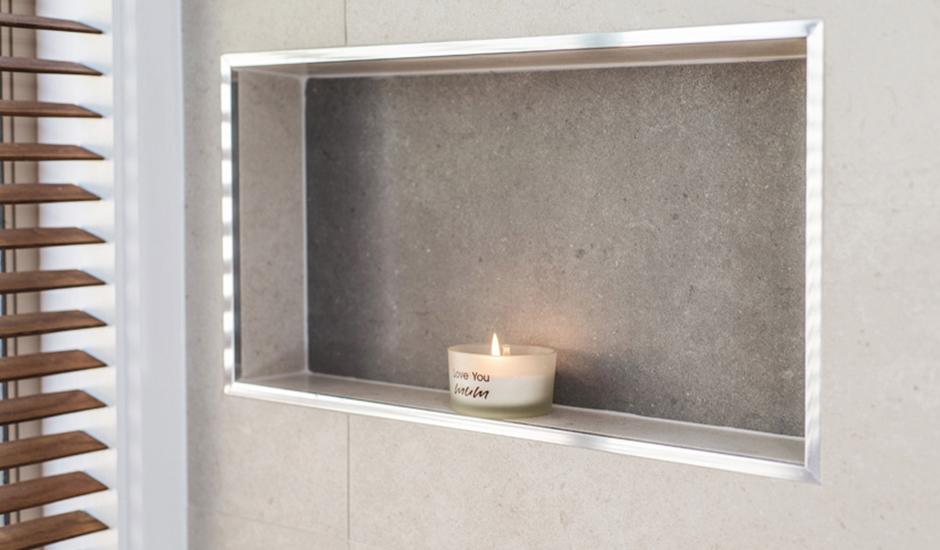 Conder – Bathroom 4 – Alcove with aluminium box trim_940