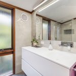 Bathroom 5 – Ensuite Vanity unit with an integrated basin
