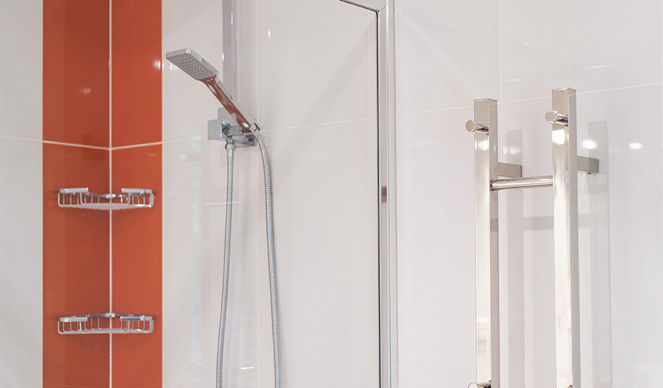 Bathroom 5 – Heated towel rail perfect for winter