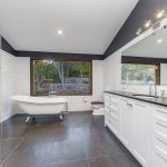Ensuite 1 – Perfectly framed, new window large window frames the beautiful outlook into the garden