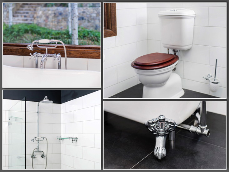Ensuite 6 – Keeping same style with tapware and accessories