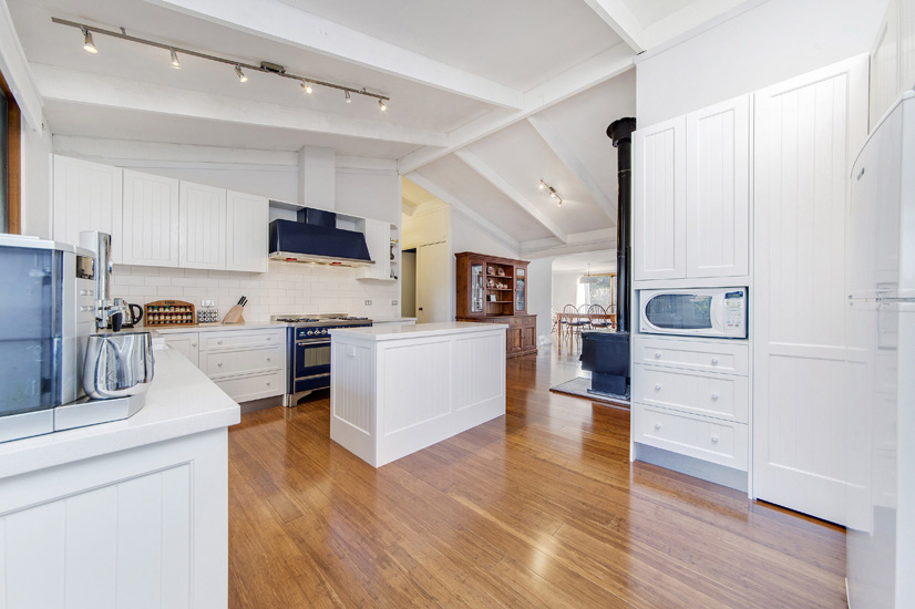 Kitchen 2 – From the new entrance into the kitchen