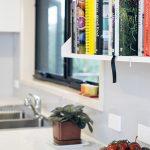 Kitchen 5 – Easy access to recipe books