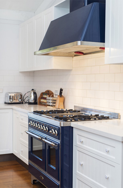 Kitchen 6 – Matching canopy range hood